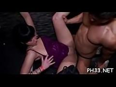 Bare party porn