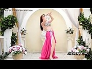 cute russian belly dancer