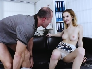 Belle Claire cannot wait to be plowed by a horny lover