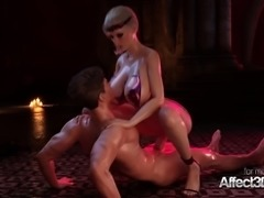 Animated Blonde Cerene Takes Huge Cock In All Holes