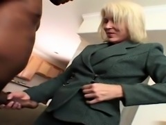 Busty amateur wife blowjob with cumshot