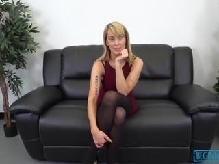 Dick hungry small town girl sucks before being fucked