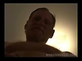 Mature Amateur Red Dawg Jerks Off