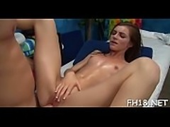 Massaging cum-hole