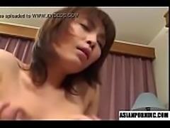 Miri Sugihara big tit slut nailed by hard cock!