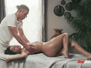 Abella Danger wants a nice full body massage with attention to her pussy