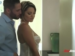 Buxom wife Alix Lovell is always ready for such emotional sex with her hubby
