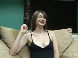 This bubbly amateur chick with a nice ass wants to be a stripper