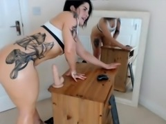 Pawg Rides Dildo - Watch Part 2 at PawgOnline dot com