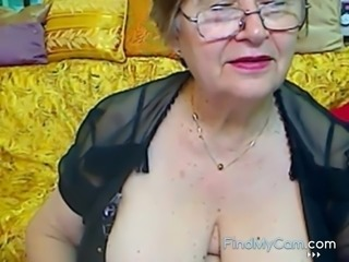 Real Horny Granny in the webcam R20