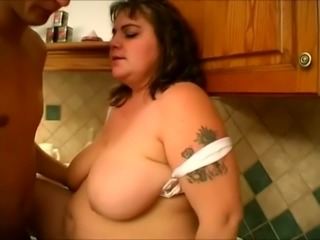 Voracious BBW slut Mindy exists just for sex and she is fun to watch