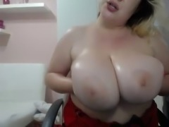 wow scrumptious blonde bbw with fat tits and pussy