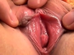 Large cock hammers sexy asian twat