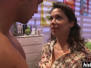 Horny mom gets plowed in hardcore fashion
