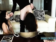 Girl roughly fucked french interracial and bondage slave