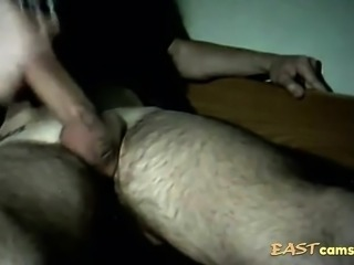 Blowjob with cum in mouth on webcam