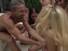 Kinky Malena takes part in a really wild orgy organized by Rocco Siffredi