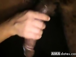 White slut takes black monster dick right in her tight pussy