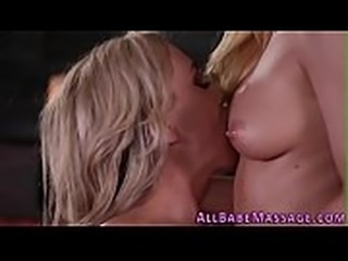 Massaged milf gets tasted