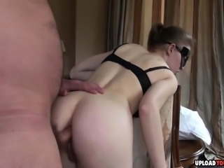 Submissive Hottie Gets Her Ass Penetrated