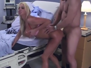 nurse fucked hard by a mature man