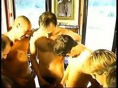 Double penetration group sex