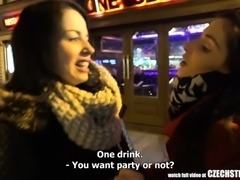 Czech Streets - I Picked up Girl in front of Prague Bar