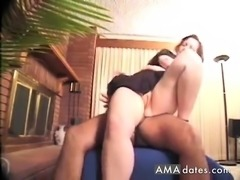 CFNM BBW wife rides her husband
