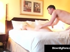Young Horny Samantha Rone Gets Pussy Pounded By James Deen!