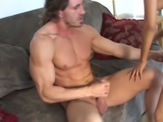 Amazing emotional busty chick Megan Martinez is captured with riding fat cock