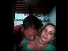 Indian bhabhi enjoying with neighbour