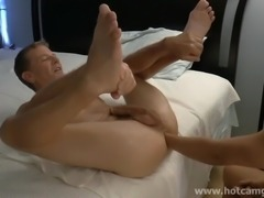 Fisting and Jerking off in Ass