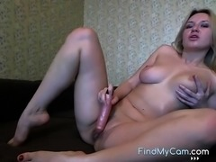 Cum and watch me dildo my tight dry asshole