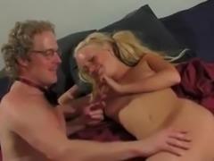 Romantic Fuck For Retro Blonde Babe