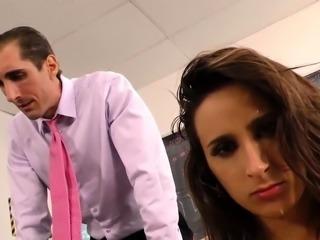 Busty wife sucking bbc
