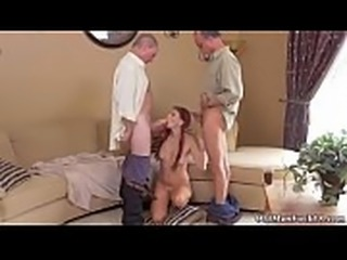 Old man cums inside young pussy Frannkie And The Gang Take a Trip