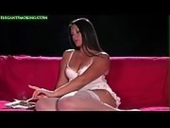Sexy Seductive 120s Smoking By Lara Martinez In Lingerie