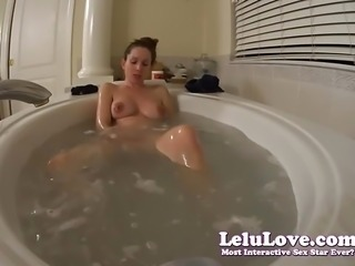 Lelu Love-Soaping Up My Tits Ass And Feet In Bath