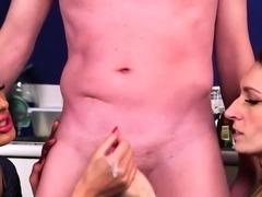British CFNM milfs sharing dick until cumshot