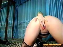 Creamy anal dildo (cam)
