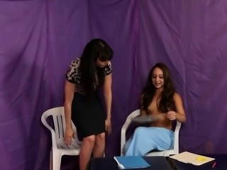 Remy scissoring with her private nurse