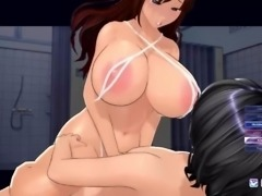 Artificial Academy 2 - first time with thick girl