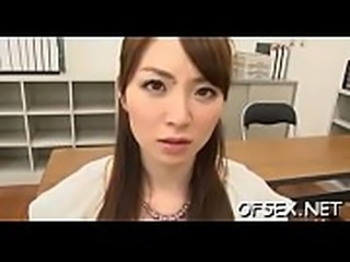 Cute businesswoman screwed