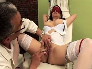 busty nurse bizarre fetish banged