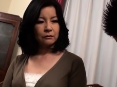 Sexy Asian milf with big tits is in need of a hard fucking