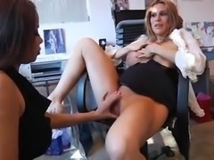 sexy secretary fuck nasty whore with her assistant