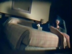Spying on sex starved couple having sex in the hotel room
