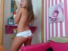 Sexy  teen Girl Giving You A Show