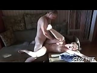 Thick dick bangs wet pussy