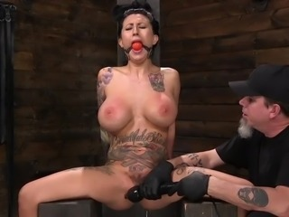 device bondage for busty lily lane